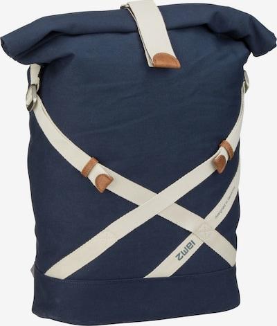 ZWEI Rucksack 'Yoga YR250' in blau / weiß, Produktansicht