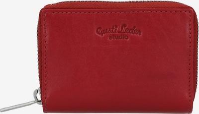 Gusti Leder Geldbörse Gusti Leder Abel Geldbörse in rot, Produktansicht
