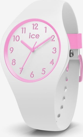 ICE WATCH Quarzuhr in pink / weiß, Produktansicht