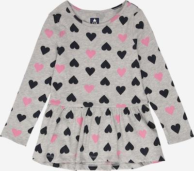Tricou GAP pe gri amestecat / roz deschis / negru, Vizualizare produs