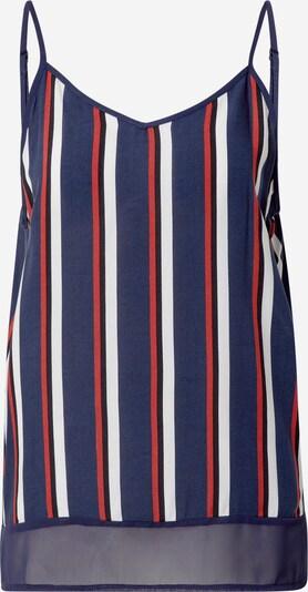 ZABAIONE Top 'Lisa' in de kleur Donkerblauw / Rood / Zwart / Wit, Productweergave
