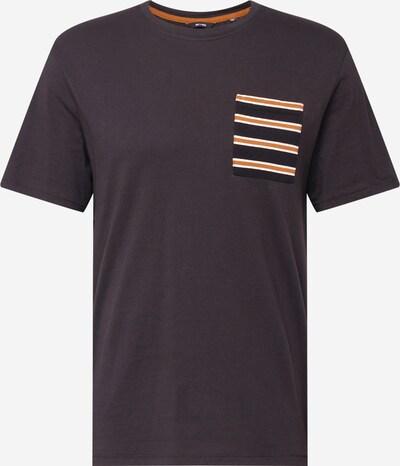 Only & Sons T-Shirt 'MELTIN' en miel / noir / blanc, Vue avec produit
