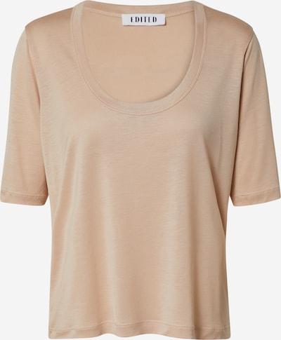 EDITED Shirt in beige / braun / cappuccino, Produktansicht