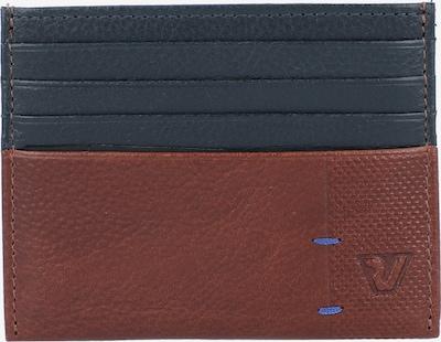 Roncato Kreditkartenetui in dunkelblau / braun, Produktansicht