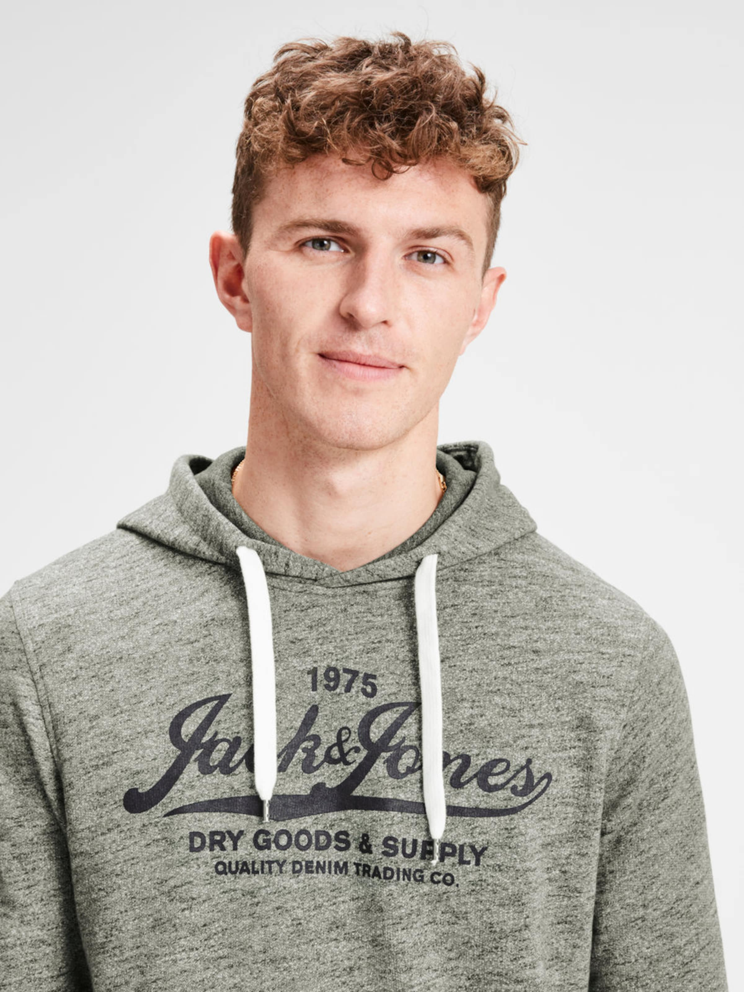 shirt En OliveNoir Jackamp; Jones Sweat Lc5A4qR3j