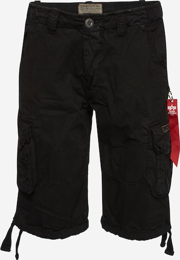 ALPHA INDUSTRIES Shorts 'Jet' in schwarz, Produktansicht