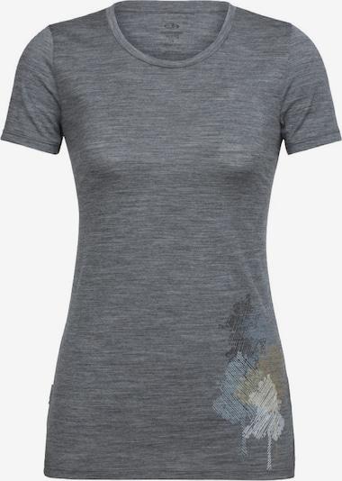 Icebreaker T-Shirt in dunkelgrau, Produktansicht