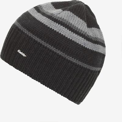 Eisbär Mütze in grau / schwarz, Produktansicht