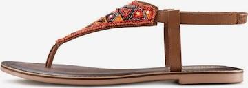 LASCANA Sandale in Orange