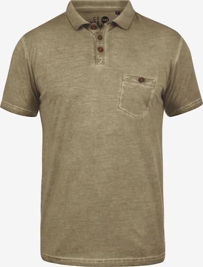 !Solid Poloshirt 'Termann' in dunkelbeige: Frontalansicht