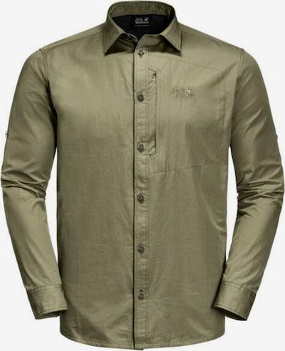 JACK WOLFSKIN Hemd 'Lakeside' in oliv, Produktansicht