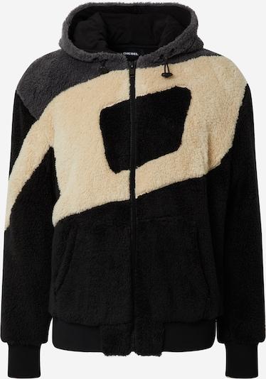 DIESEL Sweater majica 'S-ALDY' u crna / bijela, Pregled proizvoda