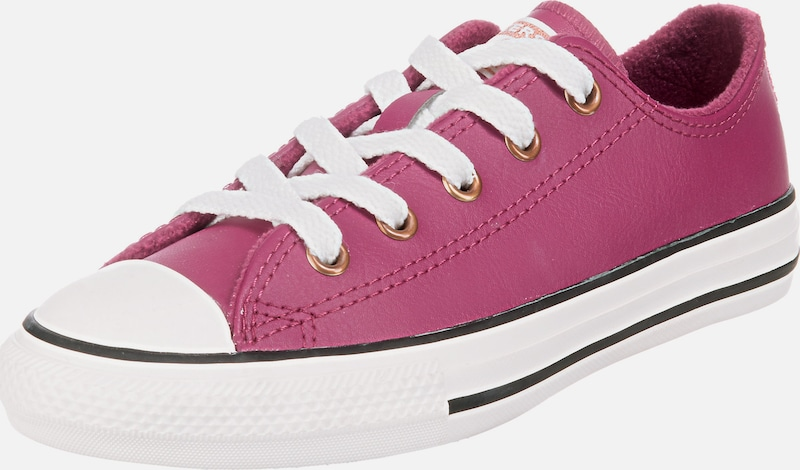 CONVERSE Sneaker 'CTAS OX' in lila: Frontalansicht