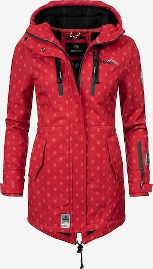 Cappotto funzionale 'Zimtzicke' MARIKOO di colore rosso / nero, Visualizzazione prodotti