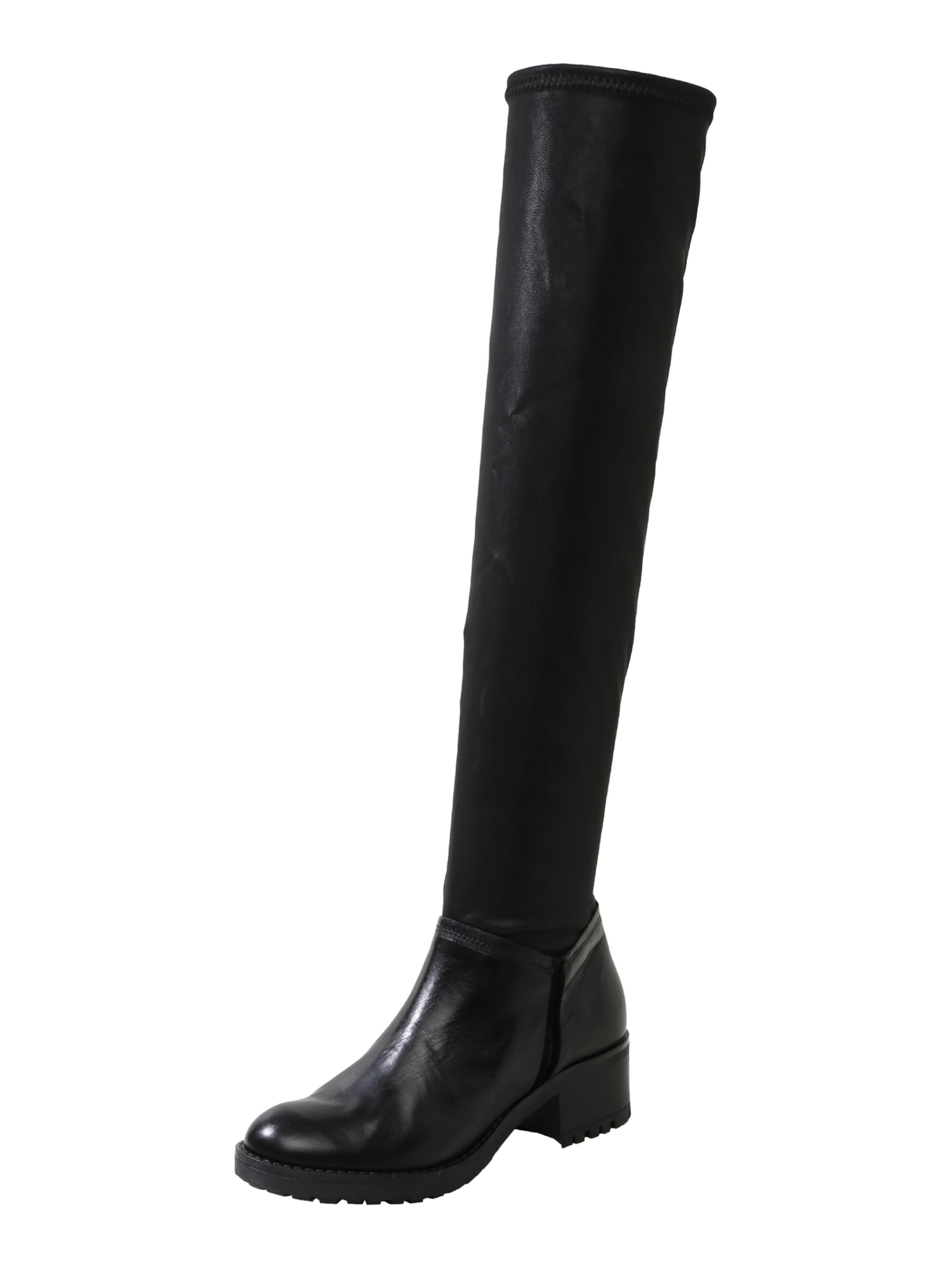 MJUS | Overknee-Stiefel aus Leder Leder Leder c24cbb