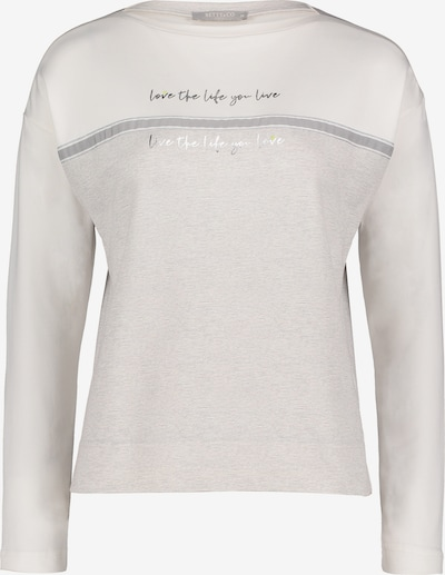 Betty & Co Sweatpullover in grau, Produktansicht