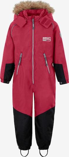 TICKET TO HEAVEN Schneeanzug 'Noa' in dunkelpink / schwarz, Produktansicht