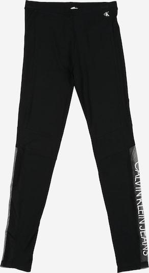 Calvin Klein Jeans Leggings 'MESH LOGO LEGGING' in schwarz, Produktansicht