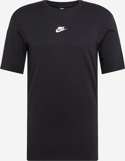 NIKE Shirt in schwarz / weiß, Produktansicht