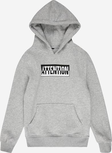 Mister Tee Sweatshirt in de kleur Grijs / Zwart, Productweergave