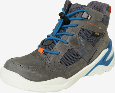 ECCO Sneaker High 'Biom Vojage' in blau / anthrazit / orange / weiß, Produktansicht