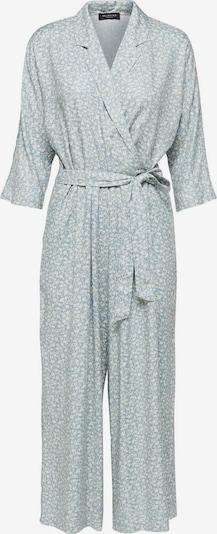 SELECTED FEMME Jumpsuit in de kleur Lichtblauw / Wit, Productweergave