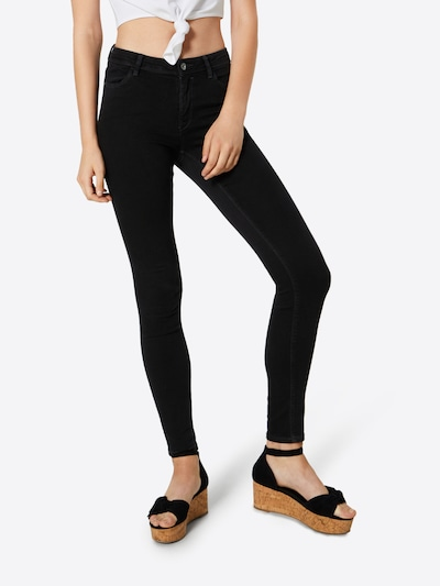 EDC BY ESPRIT Jeggings in schwarz, Modelansicht
