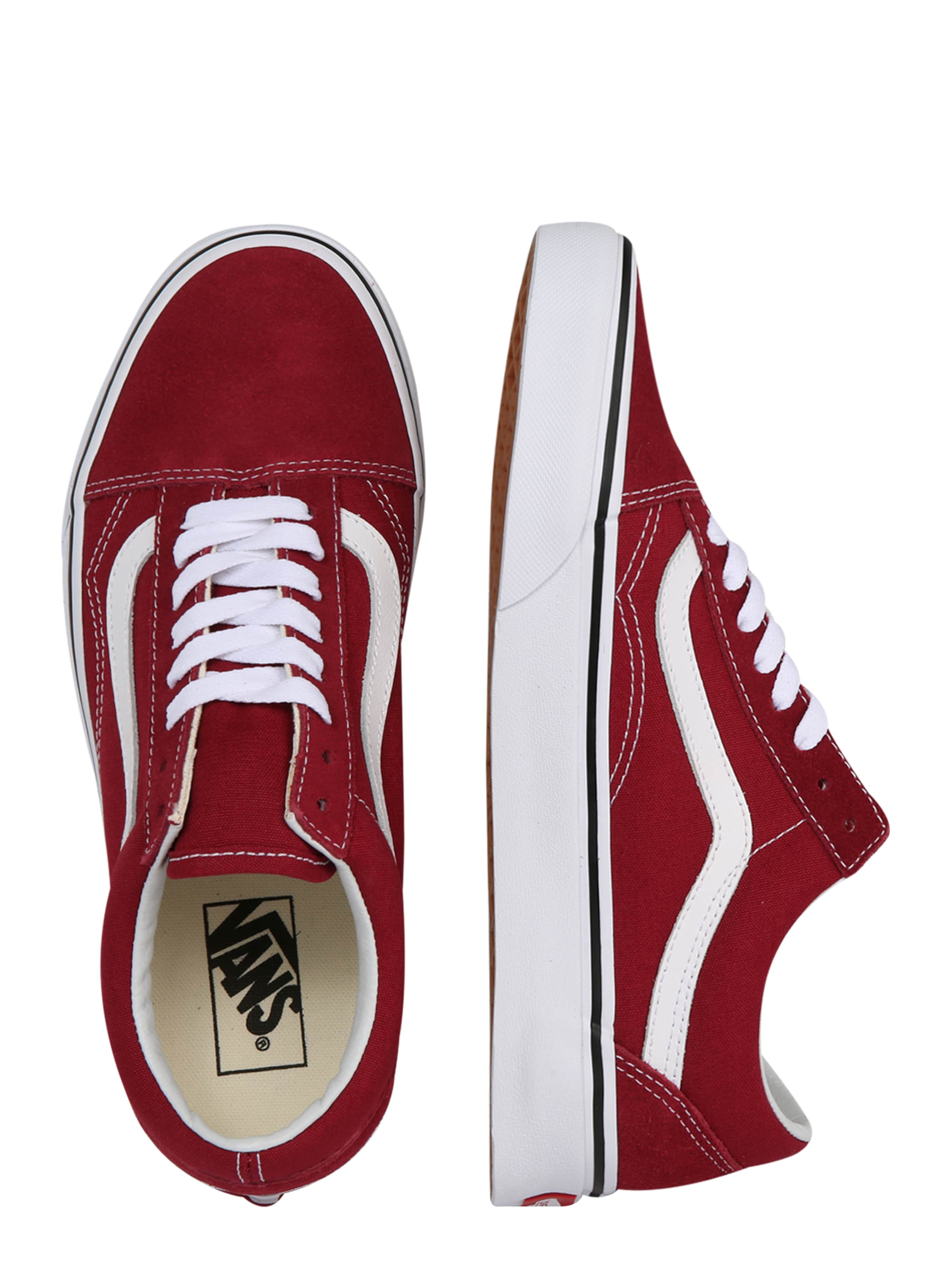 Sneaker RotWeiß Vans In Skool' 'comfycush Old yvn80NwOm