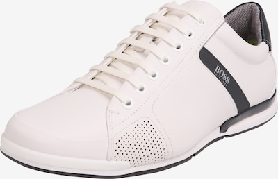 BOSS Sneaker 'Saturn' in nachtblau / weiß, Produktansicht