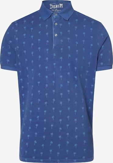 Nils Sundström Shirt in blau, Produktansicht