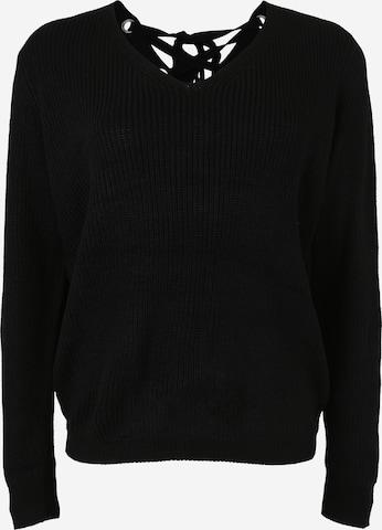 Urban Classics Curvy Sweater in Black
