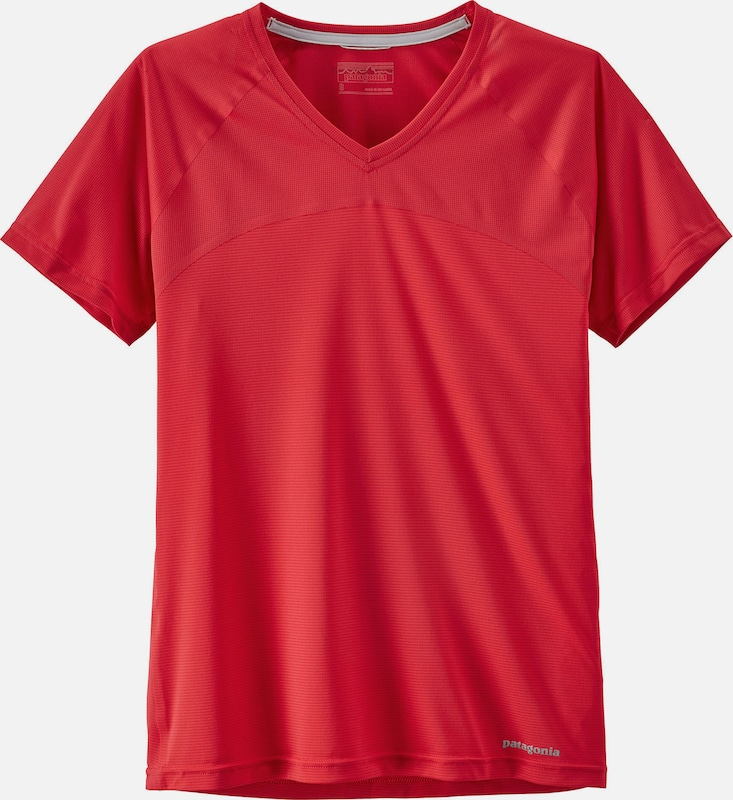 PATAGONIA Shirt in rot, Produktansicht