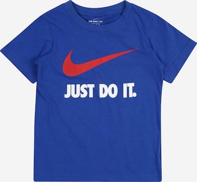 Nike Sportswear T-Shirt in royalblau / rot / weiß, Produktansicht