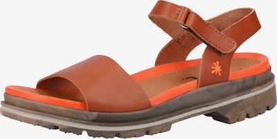 ART Sandalen in rostbraun, Produktansicht