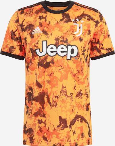 Sportiniai marškinėliai 'JUVE 3 JSY' iš ADIDAS PERFORMANCE , spalva - oranžinė / juoda / balta, Prekių apžvalga
