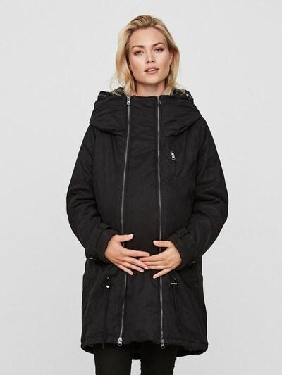 MAMALICIOUS Wintermantel 'MLTIKKA' in schwarz, Modelansicht