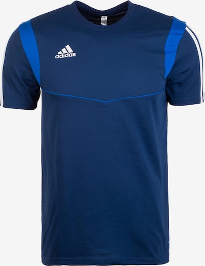 ADIDAS PERFORMANCE Functioneel shirt 'Tiro 19' in de kleur Blauw / Royal blue/koningsblauw / Wit, Productweergave
