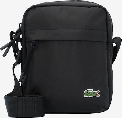 LACOSTE Crossbody bag 'Neocroc Vertical' in green / black / white, Item view