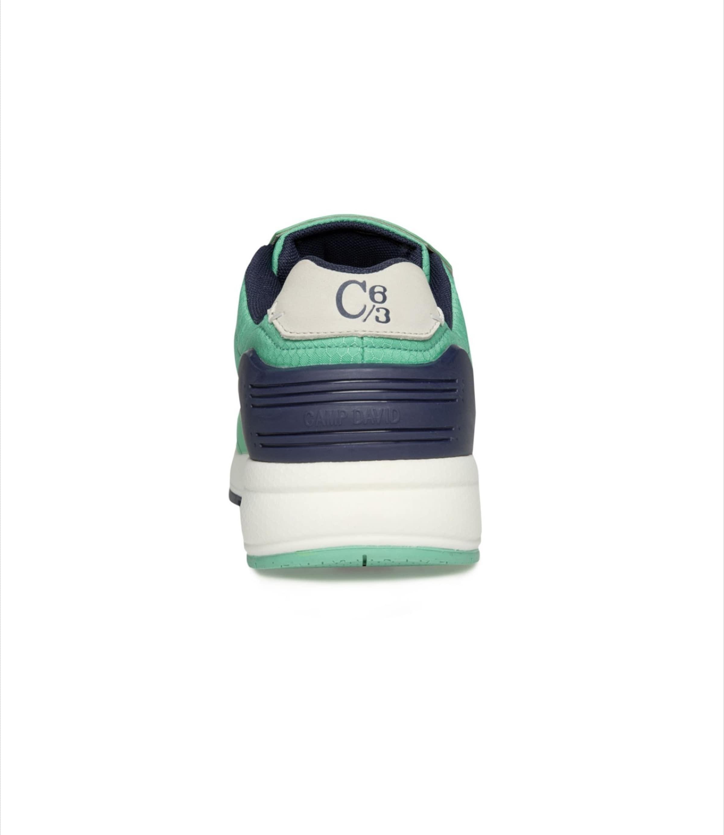 In Sneaker 'power' NavyMint Weiß Camp David vm8nONy0w
