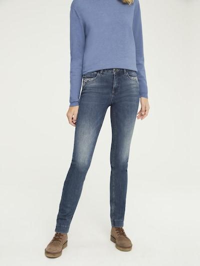 Jeans heine pe albastru denim, Vizualizare model