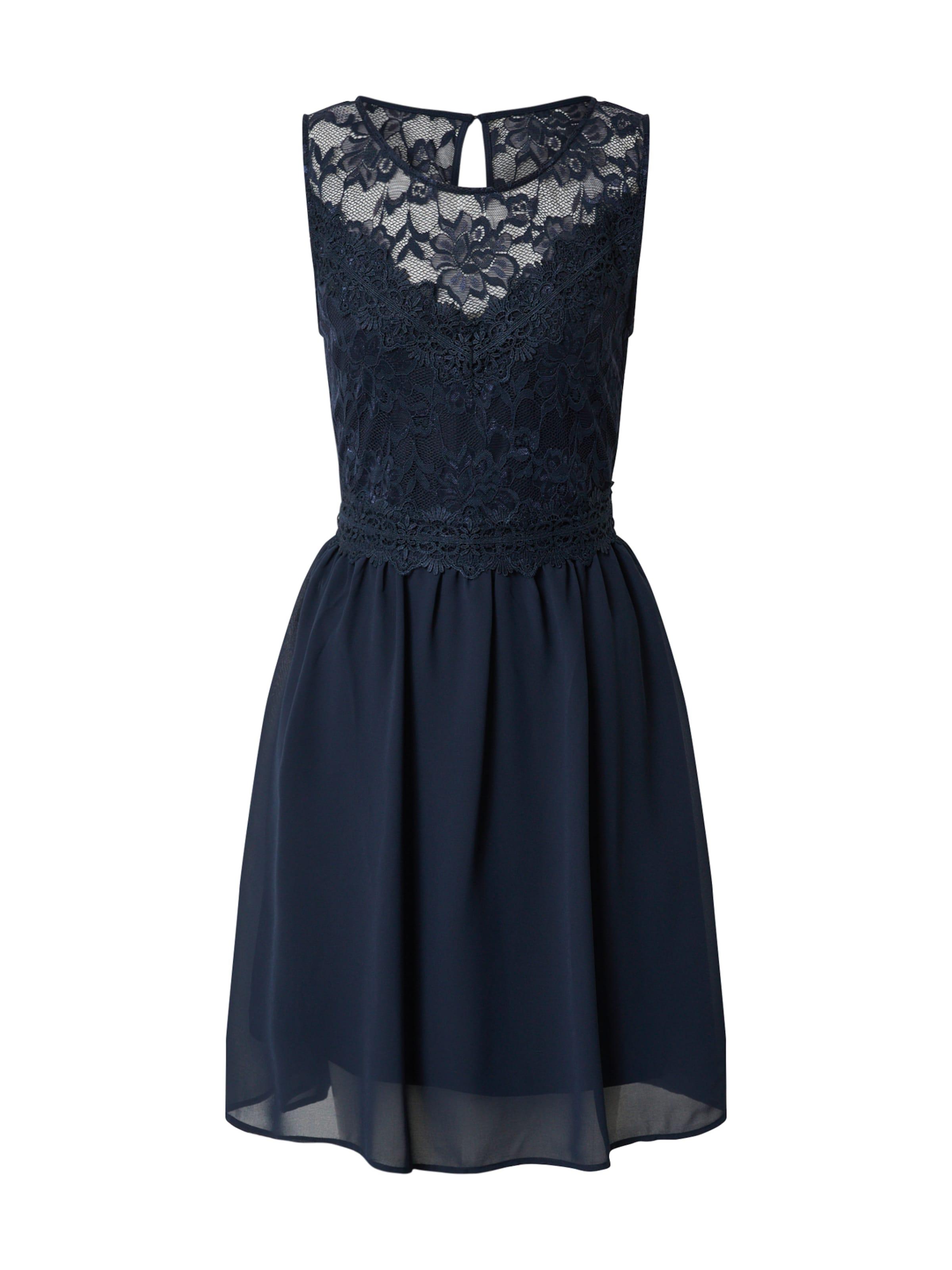 VILA Cocktailklänning i marinblå