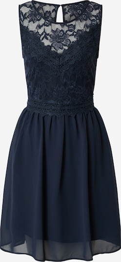 VILA Kleid 'VISALLISA S/L DRESS/DC' in navy, Produktansicht