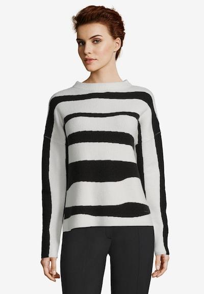 Betty & Co Pullover in schwarz / weiß, Modelansicht