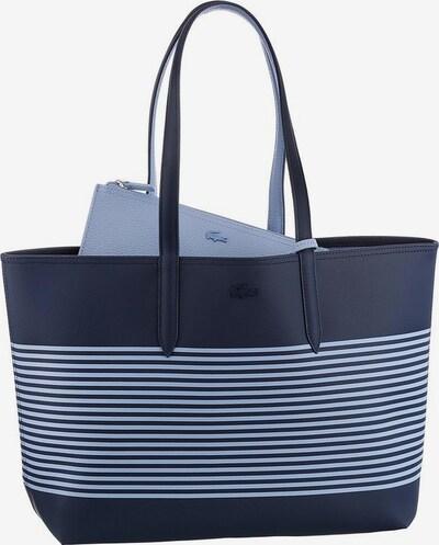 LACOSTE Shopper 'Anna Fantasie' in blau / weiß, Produktansicht
