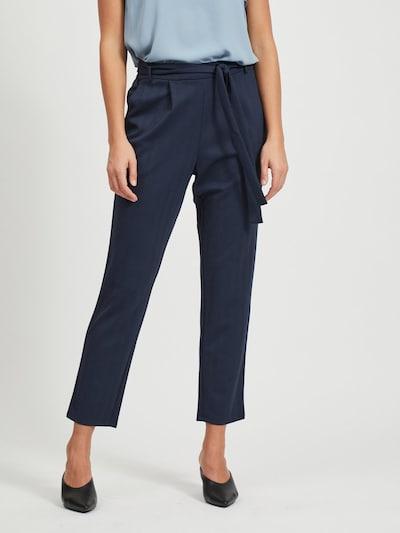 VILA Hose in blau, Modelansicht