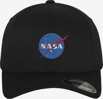 Mister Tee Flex Cap 'NASA' in blau / rot / schwarz, Produktansicht