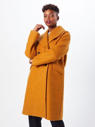 Y.A.S Manteau mi-saison 'BUCKTHORN' en marron, Vue avec modèle