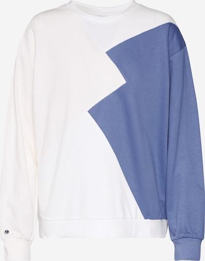 ThokkThokk Sweat-shirt en blanc, Vue avec produit