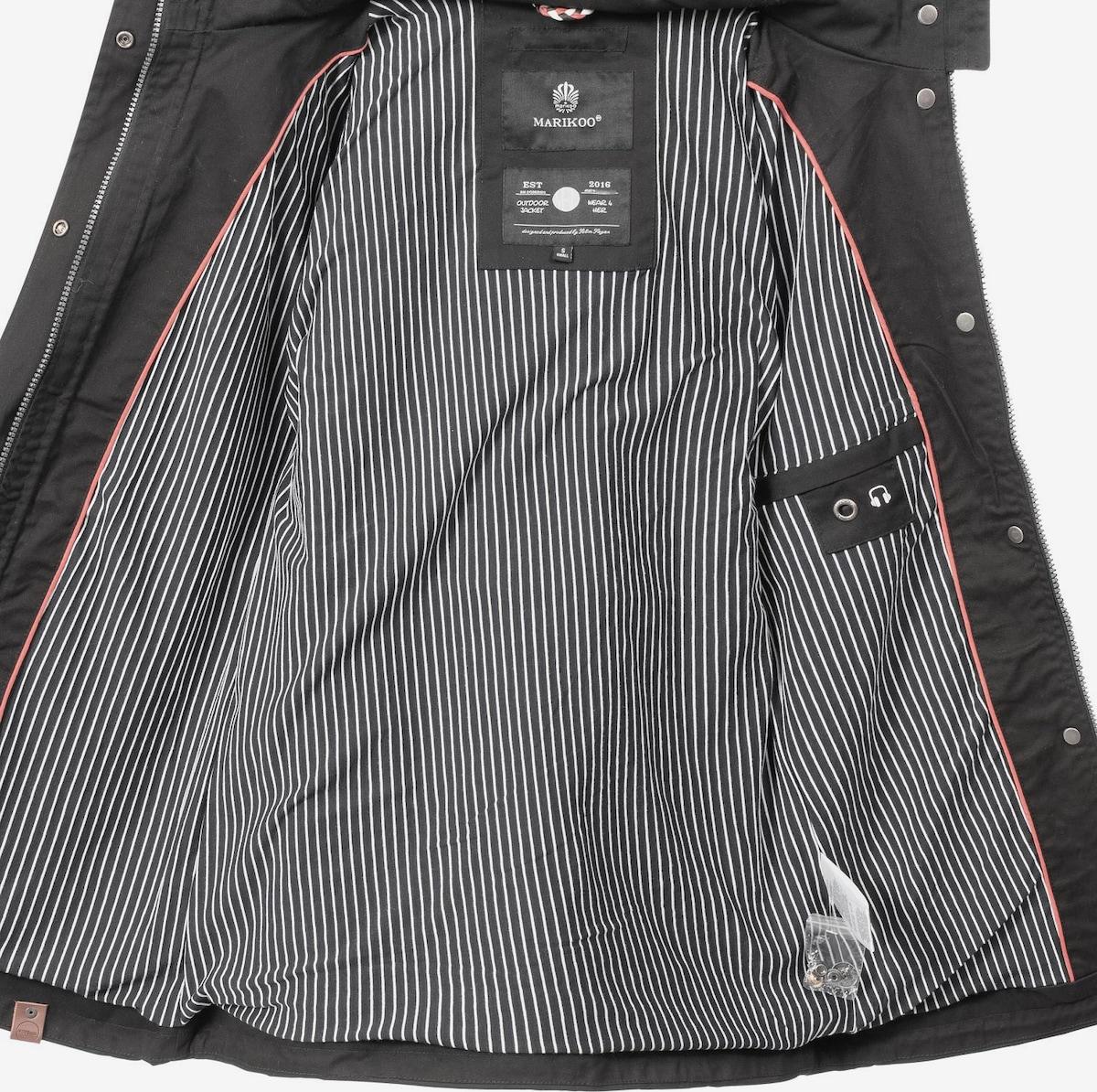 Beliebt Frauen Bekleidung MARIKOO Outdoorjacke 'Nyokoo' in schwarz Zum Verkauf