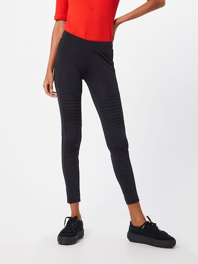 Urban Classics Leggings 'Tech Biker' in schwarz, Modelansicht